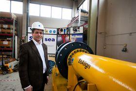 Hans-Henrik Fjelldal er en av medgründerne i SubseaDesign. Så lenge firmaet klarer seg gjennom oljekrisen, går de en lys fremtid i møte, mener han.
