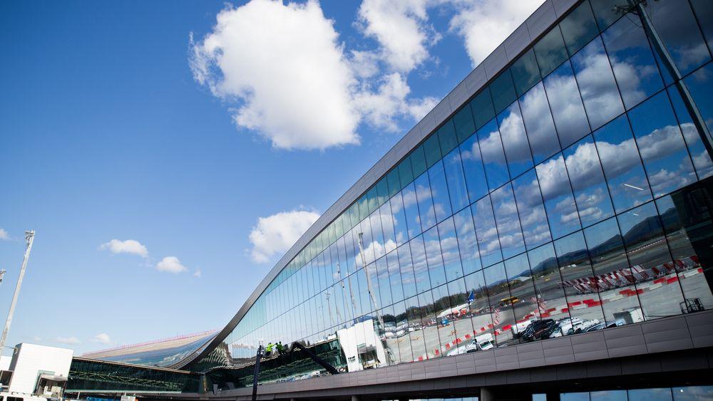 Bli med inn i nye Oslo lufthavn