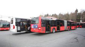 CapaCity L-bussen er rundt to og en halv meter lenger enn dagens lengste leddbusser i Oslo.
