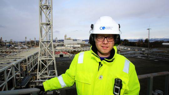 CCS-hjerne: Teknologisjef Espen Steinseth Hamborg har doktorgrad i karbonfangst og har ledet teknologiarbeidet på Mongstad de siste årene.