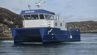 Norge får verdens første elektriske havbruksbåt