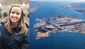 Søkte og fikk ja – for tredje gang: NTNU-student Ragnhild Austreid ser frem til nok en sommer på Hydro Karmøy.