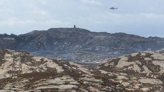 Super Puma-helikopter havarerte: – Det var et smell og en veldig spesiell motorlyd