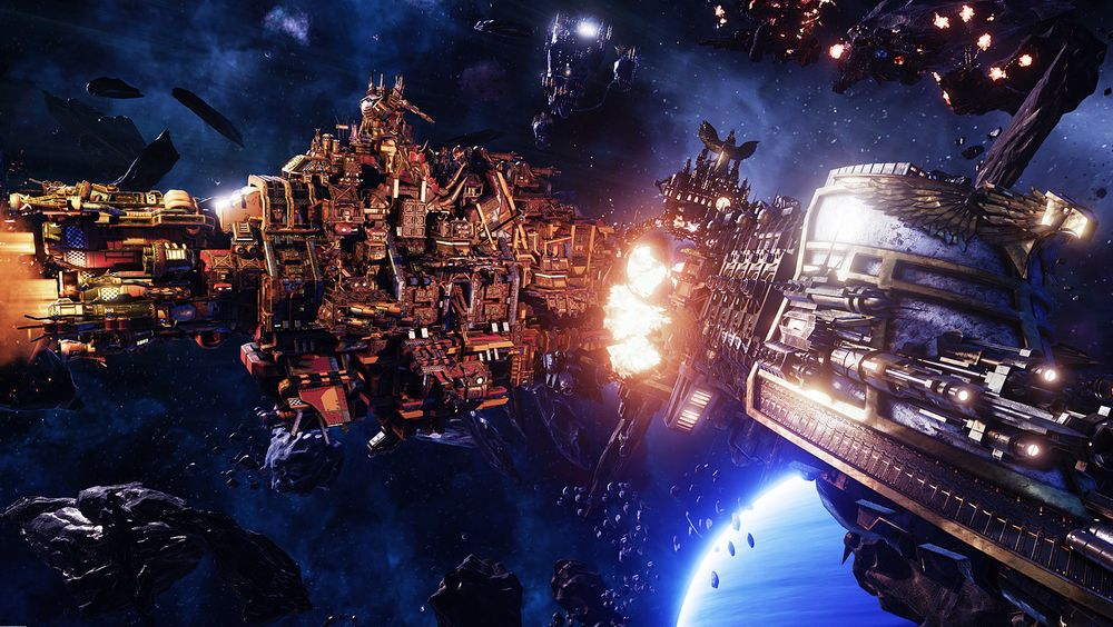 ANMELDELSE: Battleship Gothic: Armada