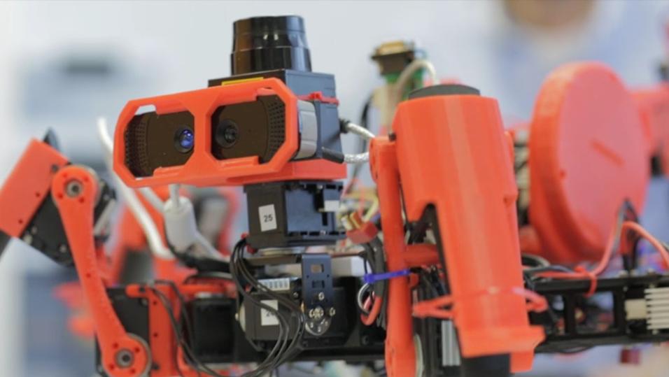 Slik ser de 3D-skrivende robot-edderkoppene ut.