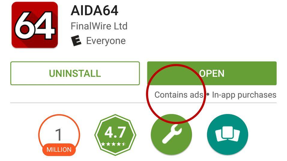 Brukere har oppdaget reklamemerking av apper i Google Play, men det gjelder ikke alle.