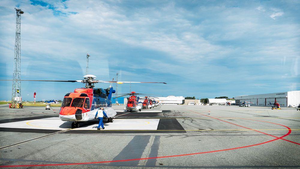 Vraket europeiske helikopterregler - har ennå ikke kommet igang med norske