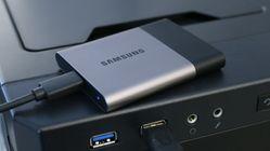 T3 er en snerten og kjapp ekstern SSD