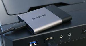 Test: Samsung Portable SSD T3