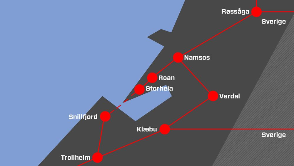 Storheia-Snillfjord-linjen skal ikke bygges før i 2028. Naturvernforbundet mener resten de nye linjene ikke er sentralnett, men vindkraftradialer som utbyggerne selv må betale, og har klaget saken til Esa.