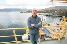 Marcel Tuin, prosjektleder i Van Oord, har lang erfaring med lignende operasjoner verden over.