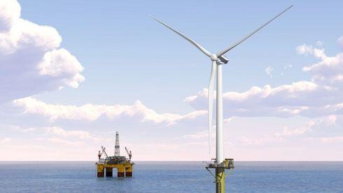 Snart kan oljeselskapene få strøm fra flytende havvind - kan spare 3 dollar fatet