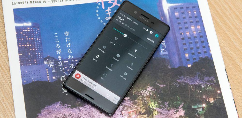 Sony legger seg stadig nærmere rene Android-menyer fra Google.