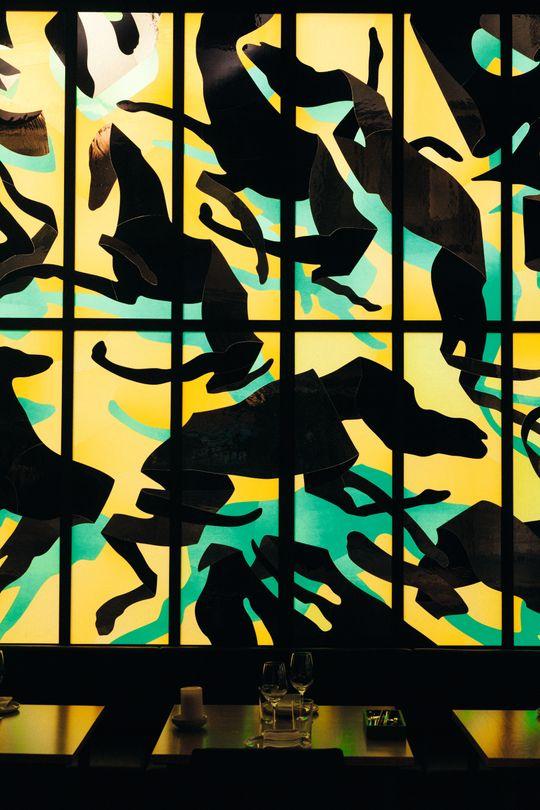 Are Mokkelbost er en av kunstnerne som har bidratt på Sentralen.