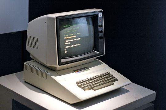 Apple II var svært avansert for sin tid.
