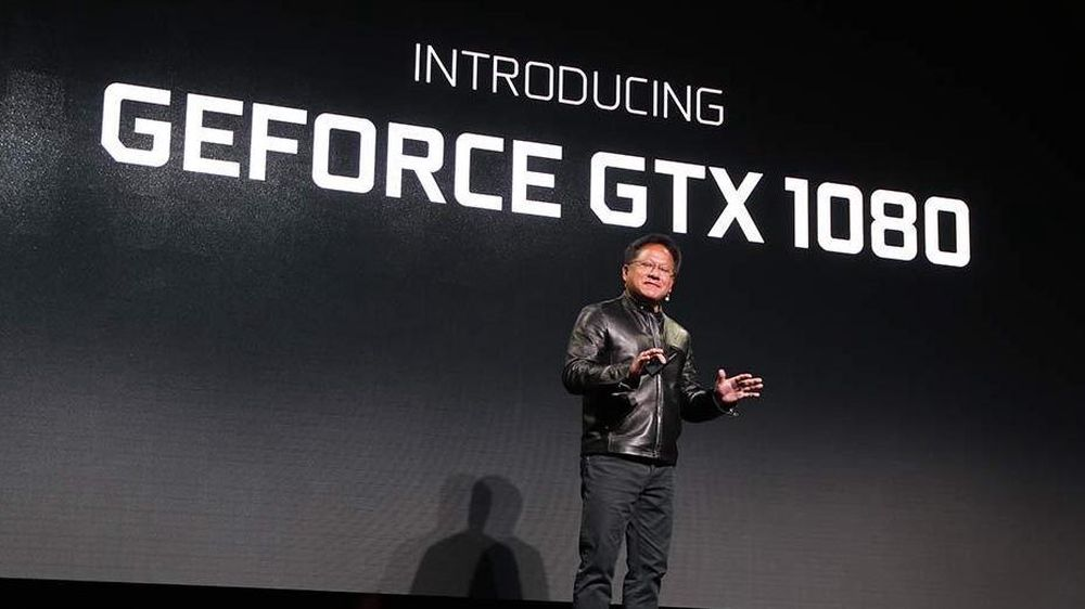 Fra scenen i Austin, Texas har Nvidia-sjef Jen-Hsun Huang sluppet nye GTX 1080.