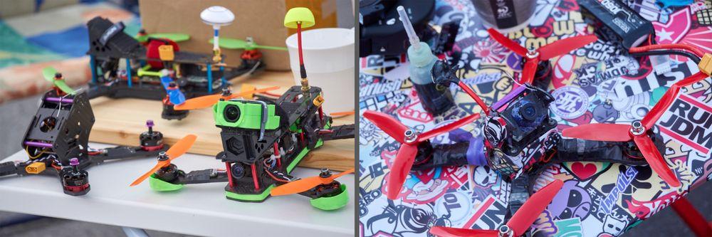 Selvbygde droner er tid- og pengekrevende, men til gjengjeld får du iallefall velge fargene helt selv!
