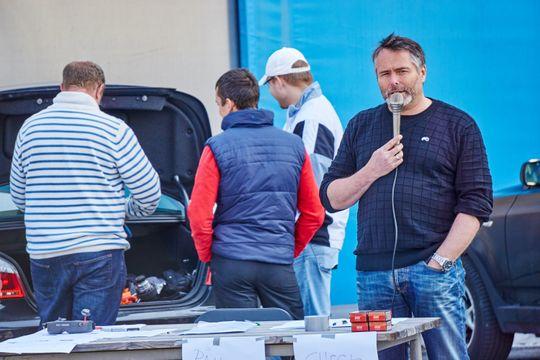 Stig Førrisdal hadde regien for arrangementet.