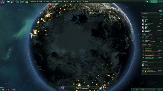 Planetene er skapt i fantastisk detalj.