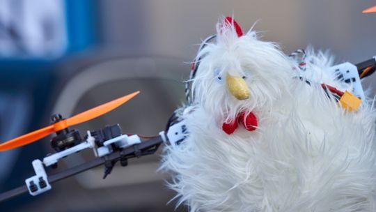 At det var Reodor Felgen-stil over dronen var det ingen tvil om.