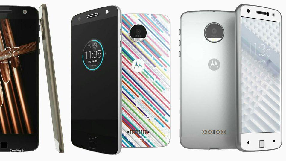 Motorola Vertex og Motorola Vector Thin.
