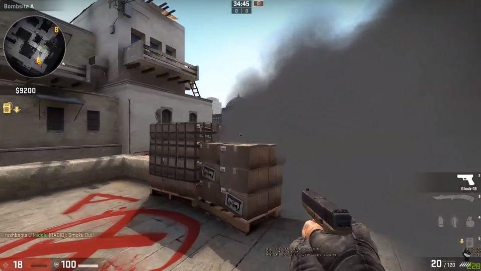 VIDEO: Slik legger du effektive røykbomber i Counter-Strike