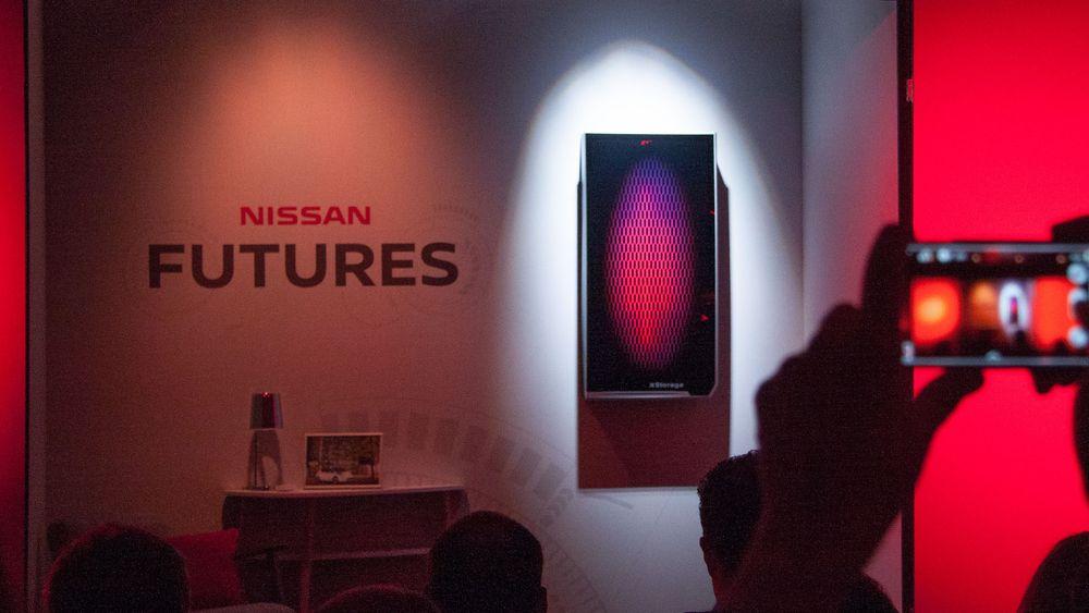 Nissan lanserte sin egen «Powerwall», kalt Xstorage.