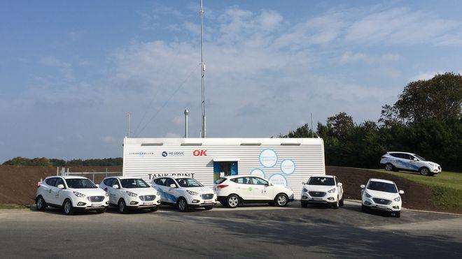 Dersom fem hydrogenbiler ankommer en fyllestasjon samtidig, er det bare drivstoff nok til fire av dem
