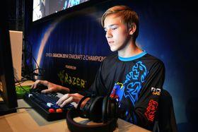 Tobias «SolO» Glenne er en av Norges største StarCraft-talenter. Her er han avbildet under Gigacon i 2014.