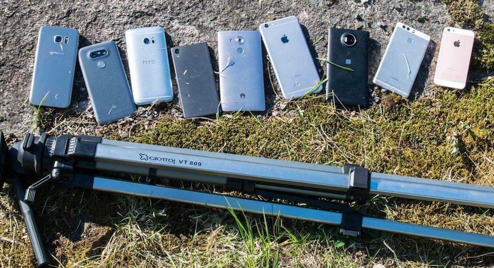 SAMLETEST: Hvilken mobil har det beste kameraet på markedet?