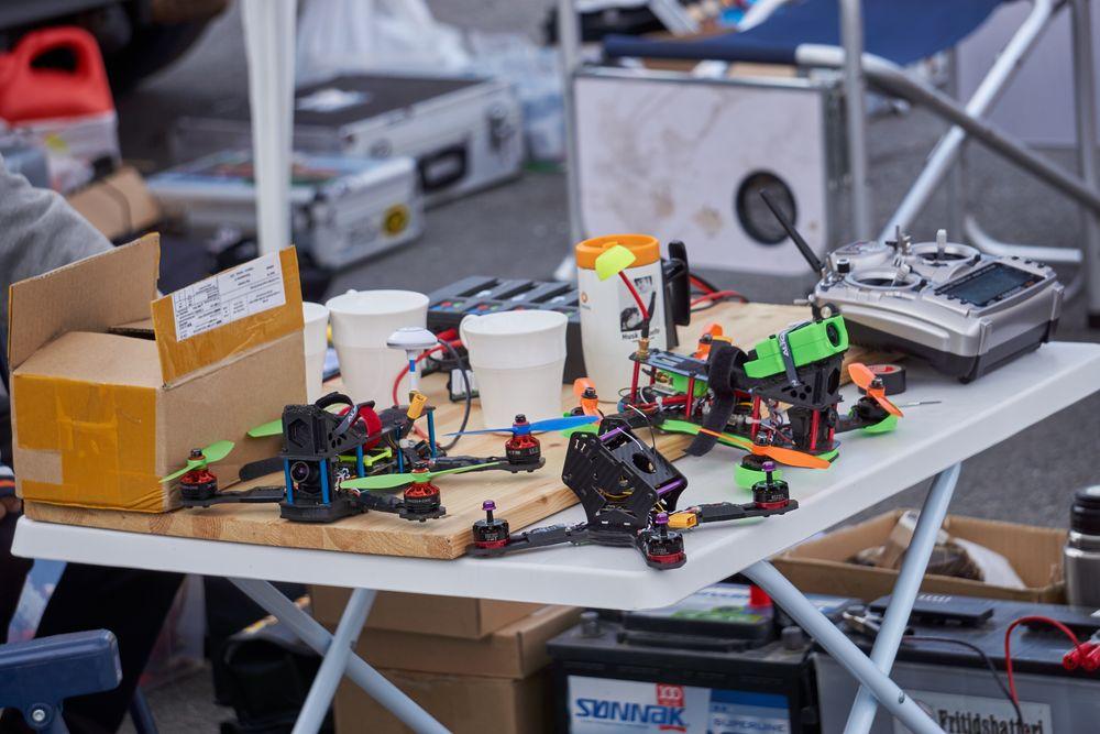Racingdroner in progress,.