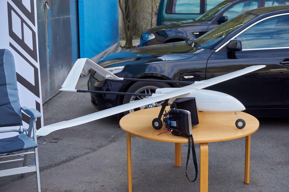 Glideflyet var en drone for seg selv.