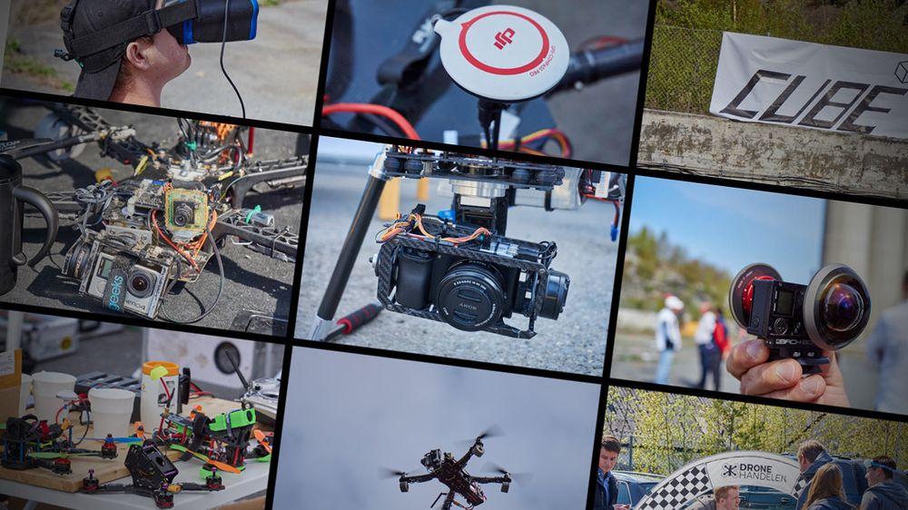 FOTOESSAY: Flere bilder fra dronedagen – her er de vi ikke tok med