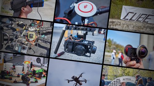 Flere bilder fra dronedagen – her er de vi ikke tok med