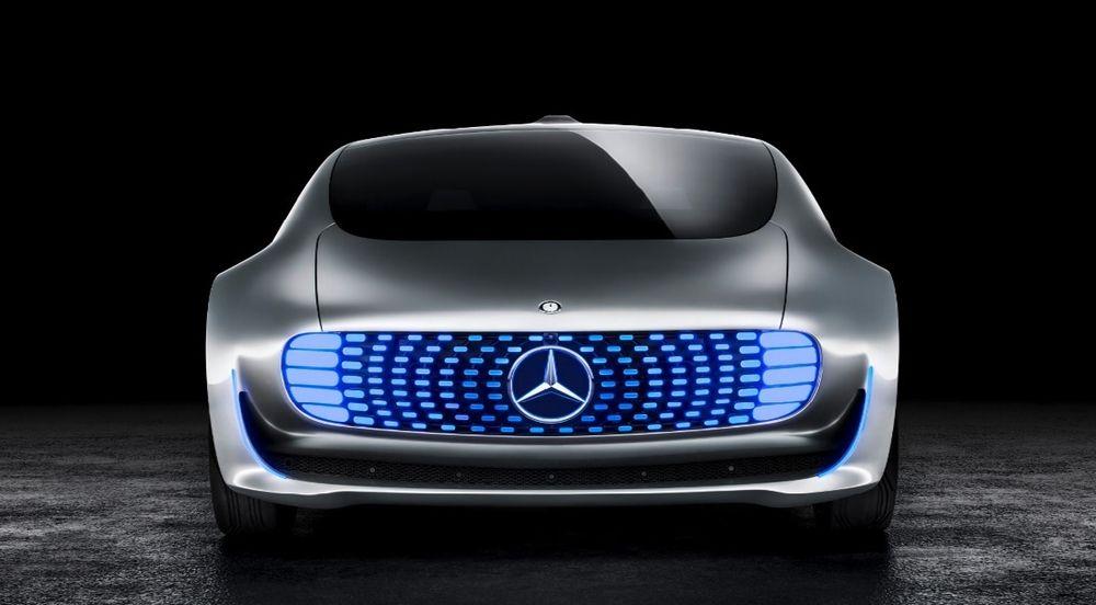 Mercedes-Benz F 015 Luxury er den tyske bilprodusentens konsept for selvkjørende bil. Illustrasjonsofot, forskerne i Leuven har ikke brukt denne i sitt arbeid.