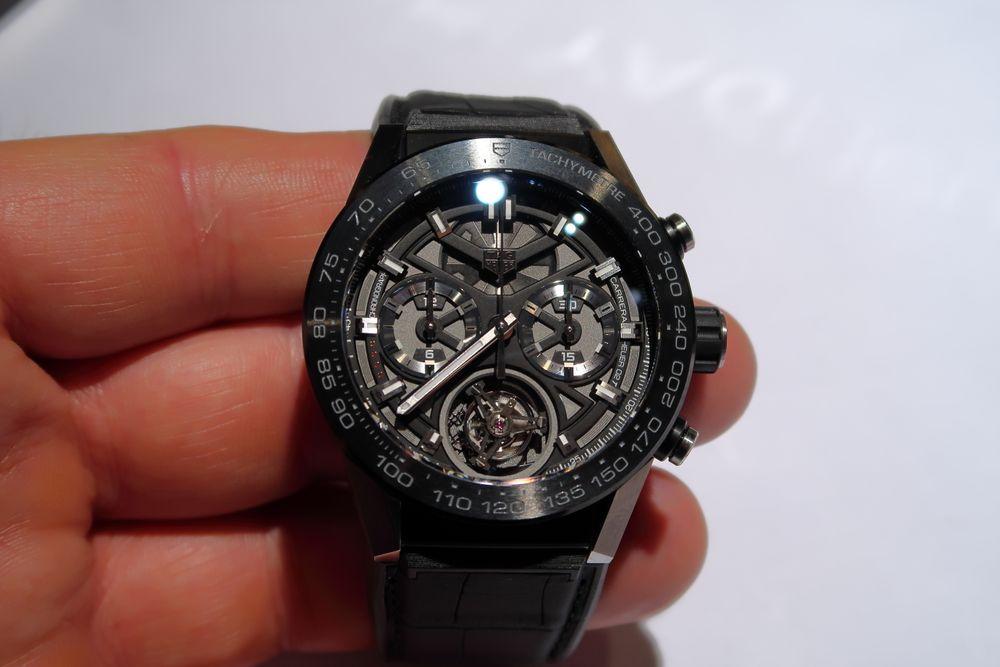 Tourbillon: Tag Heuer har laget verdens billigste armbåndsur med en mekanisme som er beskyttet mot gravitasjonseffekter.
