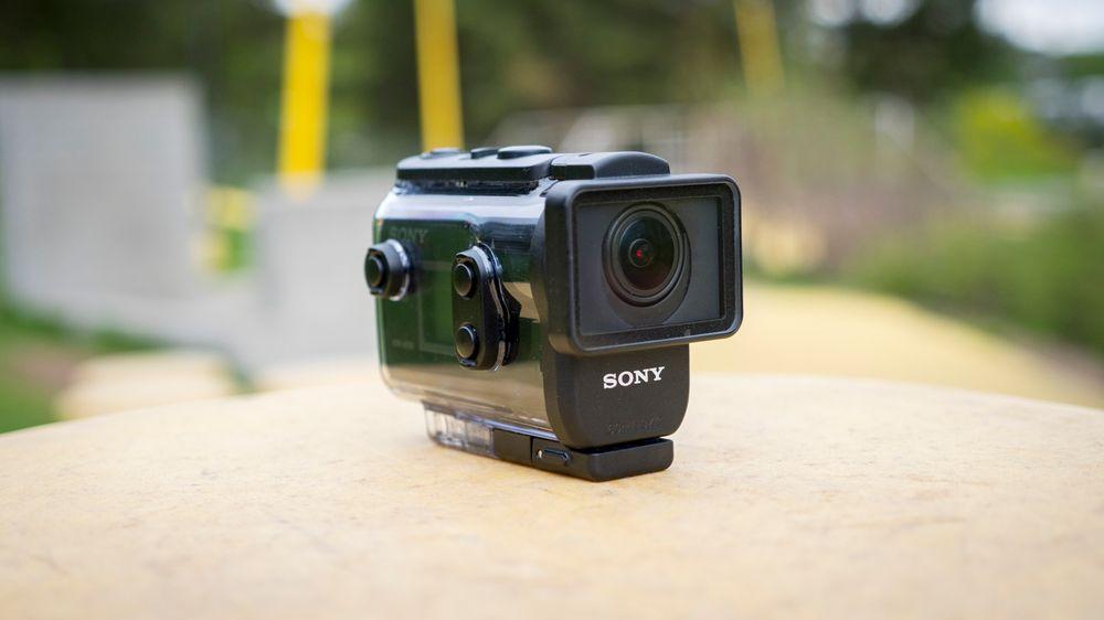 Sony AS50Sony AS50 tåler ikke vann uten beskyttelseshuset.