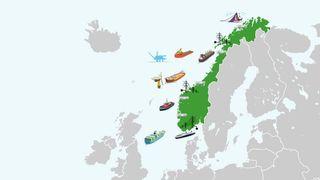 Oversikt: Her er prosjektene som skal holde Norge i verdenstoppen på skipsfart