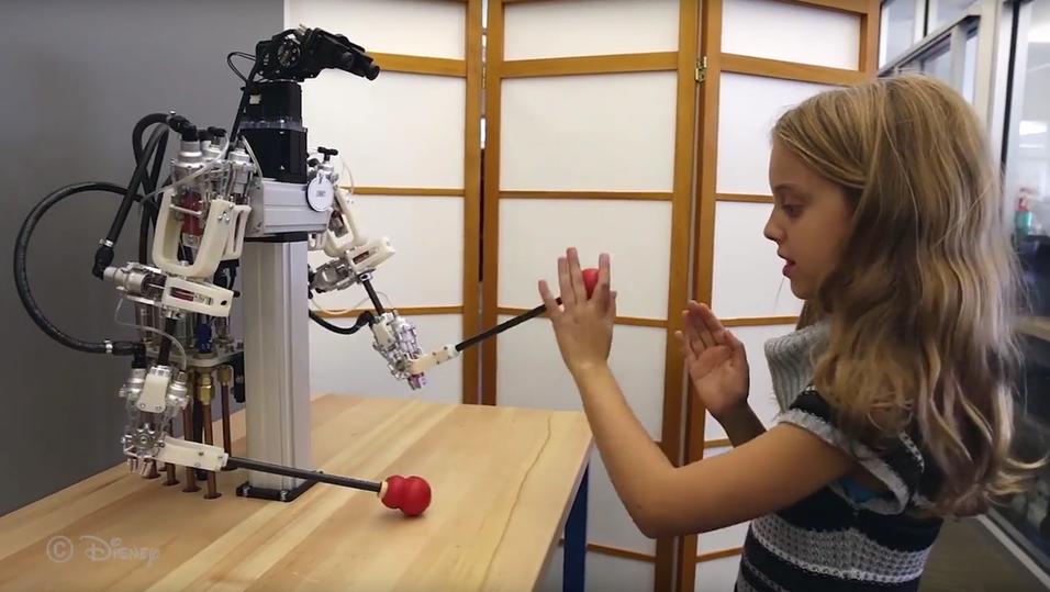 Se Disneys utrolige robot gjenskape menneskelige bevegelser helt feilfritt