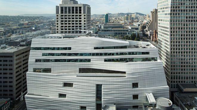 Snøhettas prestisjeprosjekt åpnet i San Francisco