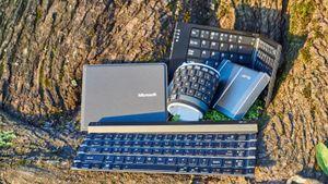 Et sammenleggbart tastatur gjør mobilen til en arbeidsstasjon