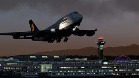 Det blir både store og små fly i spillet.