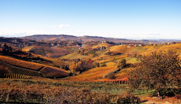 Utsikt over Serralunga fra Massolino.