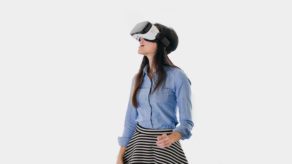 Folk kaster seg over den mobile VR-teknologien