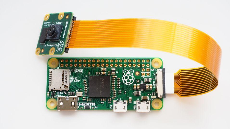 Raspberry Pi Zero har fått støtte for kameramodul.