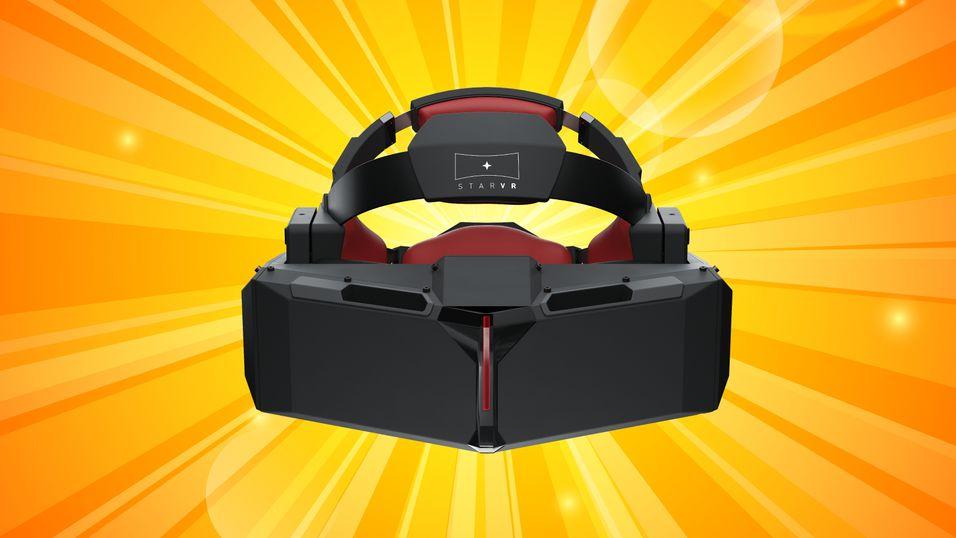 VR-brillene StarVR skal utvikles av svenske Starbreeze i samarbeid med Acer.