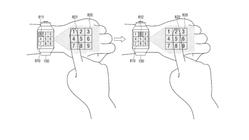 Samsung vil bruke hånden din som smartklokkeskjerm