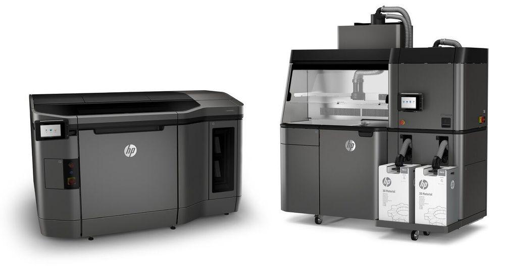 Jet Fusion 3D: HP lanserer nå to utgaver med den nye 3D-print teknologien. Den dyreste er mer egnet for produksjon og har mer avansert materialflyt og hurtigkjøling.