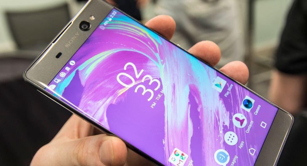 XA-telefonene er de rimeligere modellene i Sonys nye serie, og XA Ultra med stor nesten kantløs skjerm er iøynefallende, for å si det forsiktig.