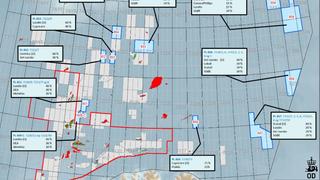 Kun halvparten av oljeselskapene fikk en bit av Barentshavet. Her er taperne